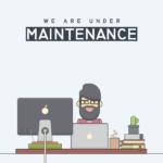 Upcoming Website Maintenance
