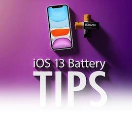 iOS Battery Tips