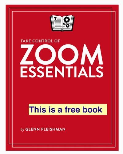 Zoom Essentials Book – FREE!