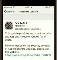 Apple Releases iOS 12.5.4 to Block Security Vulnerabilities in Older iOS Devices