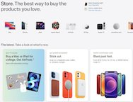 Apple store redesigned