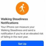 Walking Steadiness